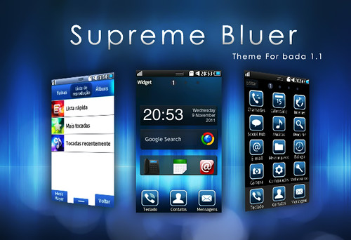 [TEMA] Tema Supreme Bluer para Bada 1.1 6329777405_462879157b