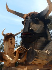 Dardanup Bull & Bush Fire Sculpture 2011 (H Carey 344) Tags: dardanup bullbush firescupture