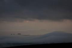 Fog Bank (me'nthedogs) Tags: mist fog somerset powerstation quantocks brentknoll hinkleypoint