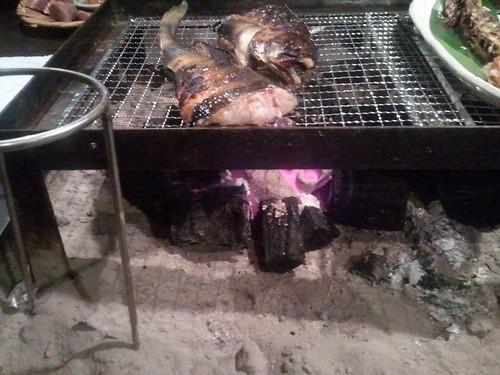 囲炉裏点火