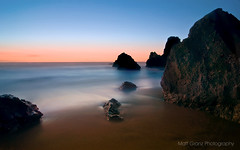 Rodeo Tranquility 2 (Matt Granz Photography) Tags: ocean california desktop sunset wallpaper motion blur beach water photography evening twilight rocks long exposure pacific fort dusk marin surreal headlands rodeo stacks sfist cronkite mattgranz