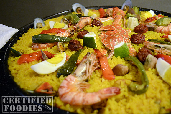 Mario's Paella Valenciana - Php 595