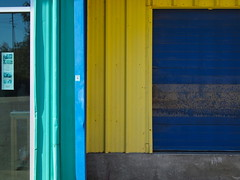 (j neuberger) Tags: blue geometric yellow metal 701tillery urbancolor