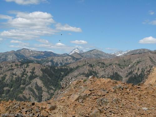 Mt. Stewart view from Teanaway Ridge, Okanogan-Wenatchee National Forest, Washington
