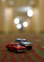 They call me the Maverick (The_real_twomartinis) Tags: car 35mm toys prime matchbox d40 bokehdots