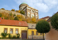 (elinor04 thanks for 22,000,000+ views!) Tags: street old autumn house detail building castle fall colors architecture town hungary view basilica esztergom