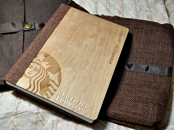 We're giving away a Starbucks 2012 planner in Cherry