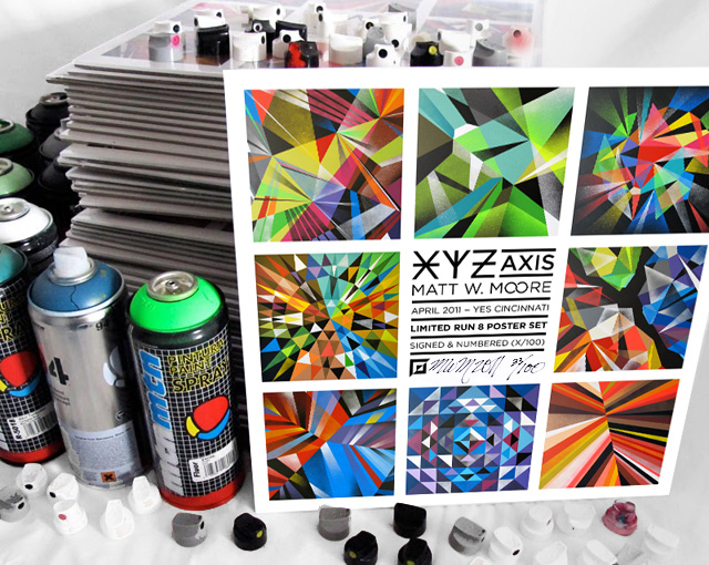 XYZ Axis : Poster Set.
