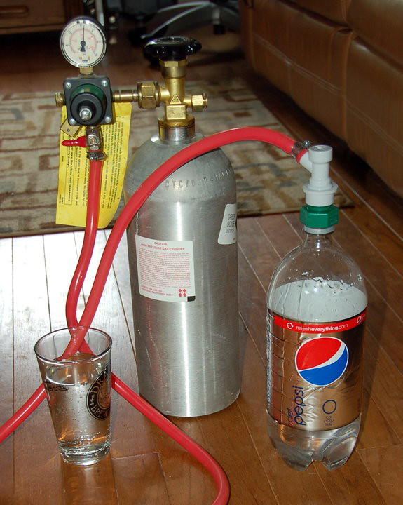 Do-it-yourself Home Carbonator