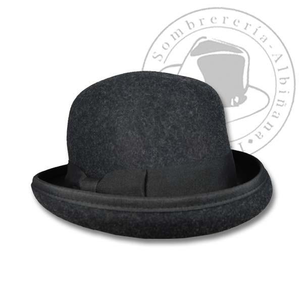 4ccc6864e6 Bombín de Mujer (Sombrerería Albiñana) Tags  hat moda otoño invierno sombrero  pamela stetson