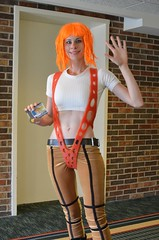 Leeloo Dallas Multi-pass (Ms.Mars) Tags: mars dallas costume cosplay super ms joanie leeloo multipass megafest