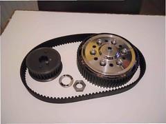 Bob Newby belt-drive (skinnysye) Tags: project cafe build racer bsa b31 400cc