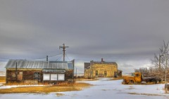 Ghosts of Loverna (Ken Yuel Photography) Tags: canada saskatchewan rodeos ghosttowns royalcanadianlegion rustyoldtrucks bej loverna prairietowns digitalagent kenyuel ghosttownsofsaskatchewan