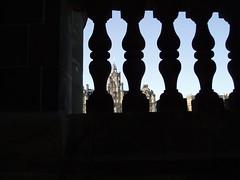 The distant clock tower. (MWBee) Tags: nikon edinburgh clocktower balmoralhotel mwbee scotsmanssteps