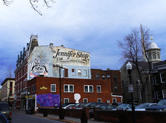 Jennifer Shop Sign Kingston New York (Village Green Realty) Tags: art shopping kingstonnewyork firsthand uptownkingston stockadedistrict kingstonart thisisny