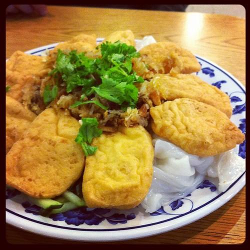 Vegan banh cuon from Banh Cuon Tay Ho