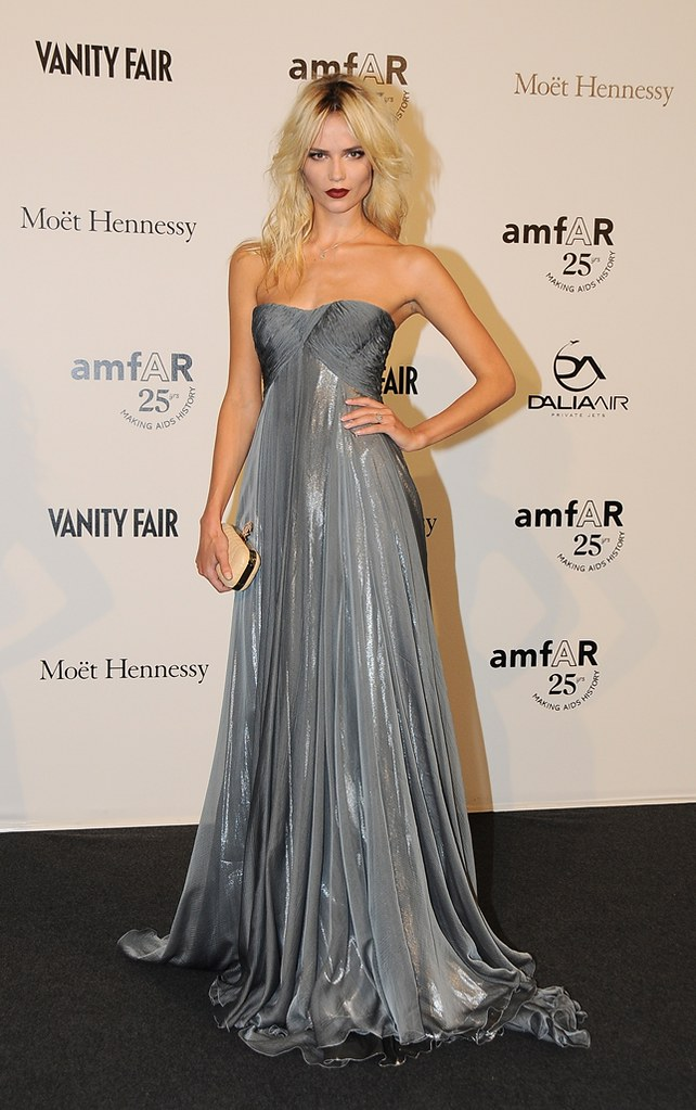 amfAR benefit, held yesterday, Friday September 23rd 2011-natasha-poly-in-cavalli