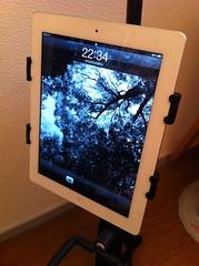 iPadを装着してみた