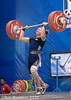 Lassen Jeane CAN 69kg (Rob Macklem) Tags: world dominican republic 2006 can olympic weightlifting championships domingo santo jeane lassen 69kg