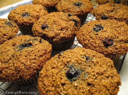 Farmgirl Fare: My Best Healthy Bran Muffin Recipe With 100