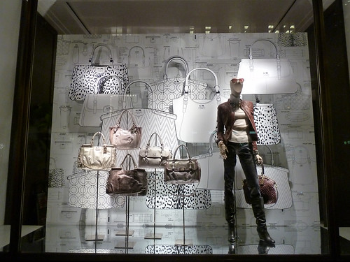 Vitrines Coach - New York, septembre 2011