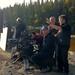 Francois Daignault cadreur, Michel Poulette réalisateur et Allen Smith directeur photo