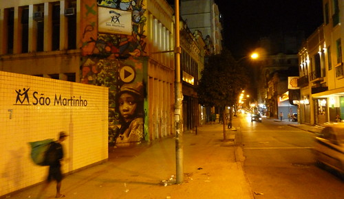A night out in Lapa