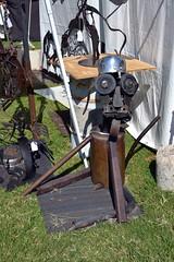 virginia welding dogsculpture metalart newportnews portwarwick