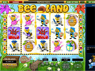 Bee Land slot game online review