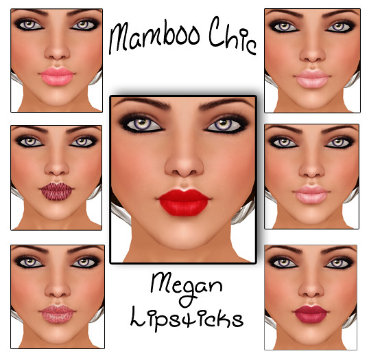 Megan Lipsticks