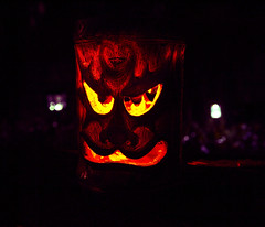 October face () Tags: light orange usa holiday halloween face night lights evening miniature photo washington october shadows close view state image united picture atmosphere mini photograph american surprise lanterns horror tacoma states