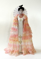 Queen Amidala - celebration gown (Matt & Kristy) Tags: starwars doll collectible naboo episodeone thephantommenace tonnerdoll queenamidala padmeamidala roberttonner celebrationgown
