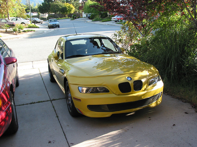 2001 BMW M Coupe | Phoenix Yellow | Gray/Black | SpeedLingerie