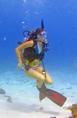 Wondering (DivePhoto) Tags: scuba diver pm