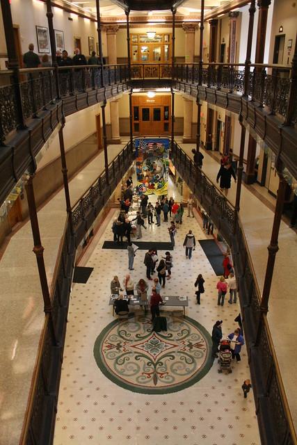 Milwaukee City Hall Interior
