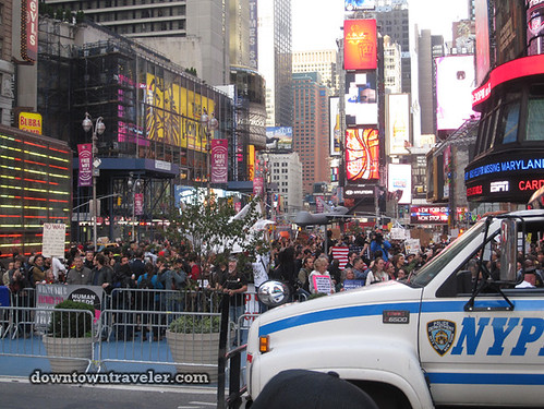 Occupy Wall Street March Times Square NYC Oct 15 _NYPD 3