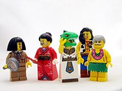Gender Norms? We Don't Need No Stinkin' Gender Norms! (Kaptain Kobold) Tags: red male female hair masculine feminine diversity transgender suit wig tranny kimono minifig gender kaptainkobold yourfave intersex tranzilla figbarf