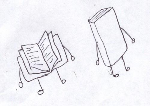 books doodle