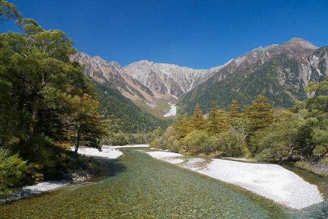 A sunny day at Kamikochi