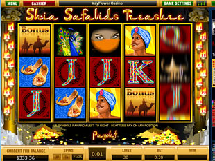 Shia Safavids Treasure slot game online review