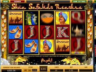 Shia Safavids Treasure slot game online review