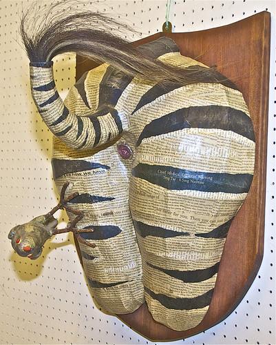 Zebra Bum with Ox Pecker