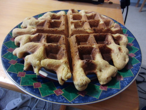 Waffle from Vegan Brunch