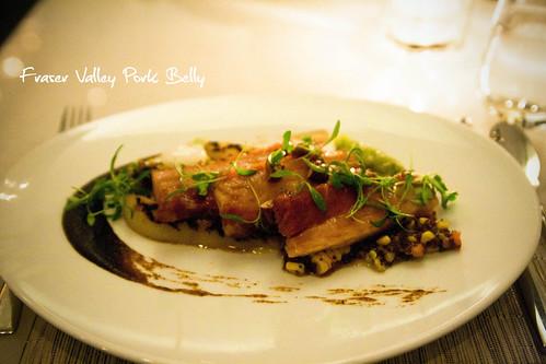 Fraser valley pork belly