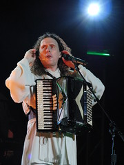 CIMG2795 (DKoontz) Tags: music rock washingtondc dc concert funny casio wierd accordian exilim apocolypse warnertheater weirdalyankovic exf1