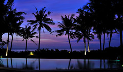 The blue hour (Affers) Tags: travel sunset vacation sky bali holiday bluehour silhoutte canggu pererenanbeach villaarika
