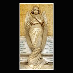 Ciao Giuliana! (Sergio.Bovi.Campeggi) Tags: sculpture friedhof cemeteries graveyard statue stone hospital lic