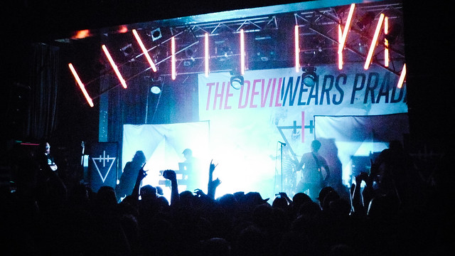 Day 286 : The Devil Wears Prada live @ Melbourne