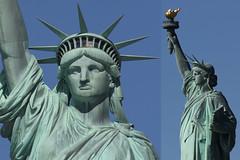 Statue of Liberty (michael_hamburg69) Tags: city nyc usa newyork statue america liberty unitedstatesofamerica stadt amerika bigapple libertyisland metropole bartholdi ostkste freiheitsstatue frdricaugustebartholdi