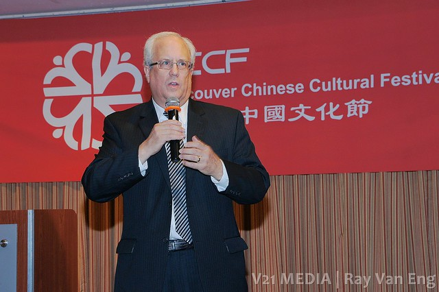 Richmond Mayor Malcolm Brodie, China Guangzhou Ballet Troupe ?????? at Vancouver Chinese Cultural Festival 2011 ????????
